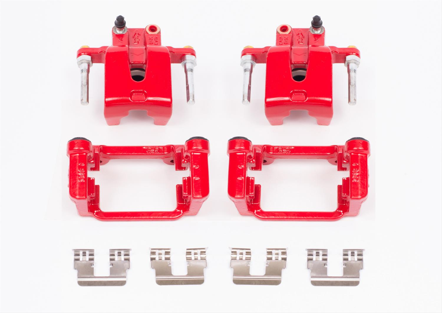 Red Performance Rear Brake Calipers 05-up LX Cars V6, 5.7L