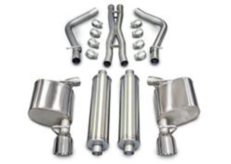 Corsa Sport Exhaust System Polished Tip 05-08 Dodge Magnum 5.7L