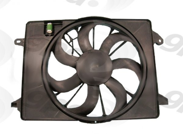 APDI-Pro Radiator Single Electric Fan 09-up LX, Challenger