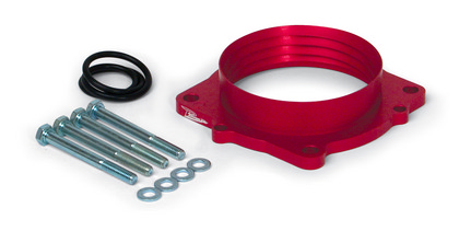 AirAid PowerAid Red Throttle Body Spacer 05-up Gen III Hemi Car