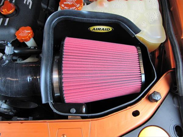 AirAid Red SynthaMax CAD Air Intake 11-up Chrysler, Dodge 6.4L