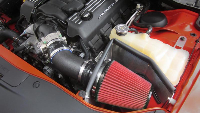 Corsa APEX DryTech 3-D Red Air Intake 11-up LX Cars 5.7L Hemi