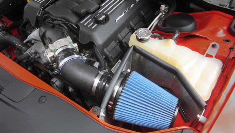 Corsa APEX MaxFlow 5 Blue Air Intake 11-up LX Cars 6.4L Hemi