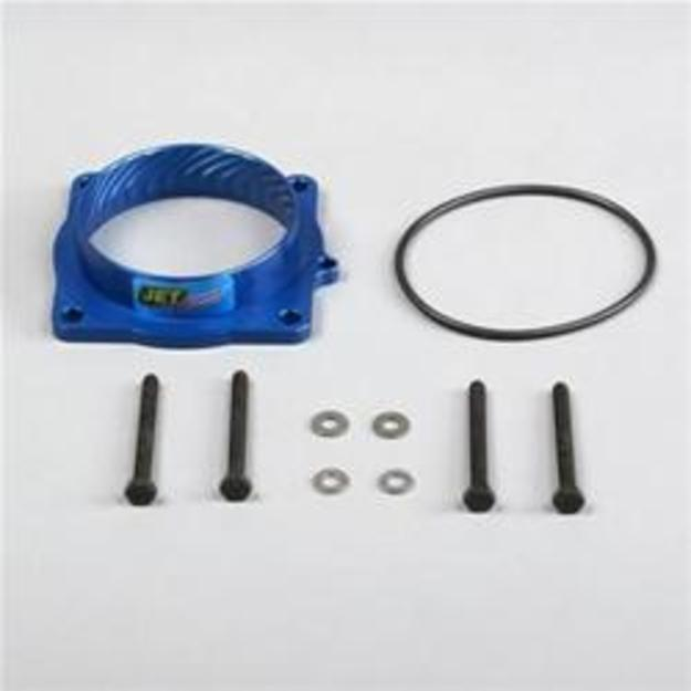 JET Performance Blue Throttle Body Spacer 05-up Gen 3 Hemi Cars