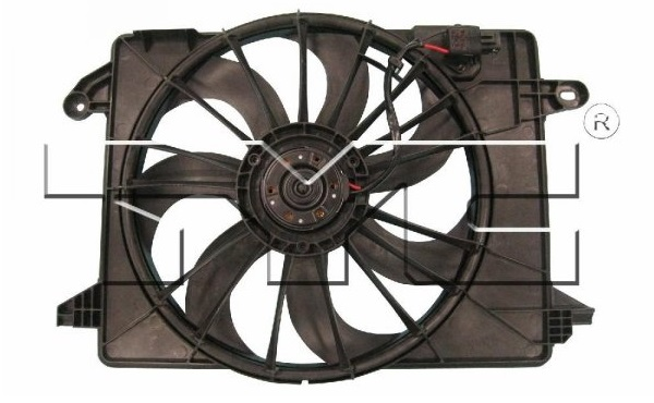 TYC Radiator Single Electric Fan 09-up LX, Challenger