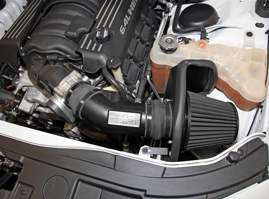 K&N Blackhawk Air Intake 11-up LX Cars 6.4L Hemi