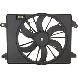 Spectra Radiator Single Electric Fan 09-up LX, Challenger