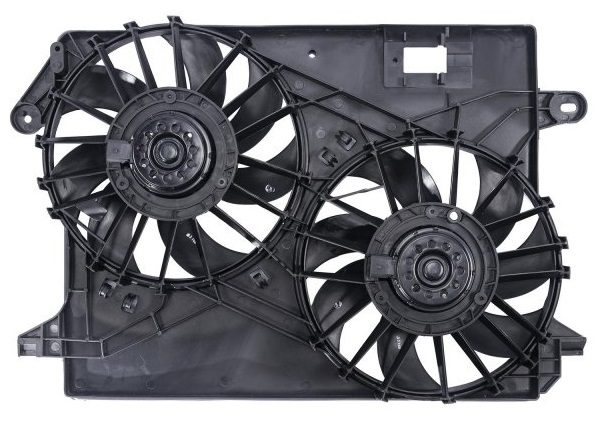 Spectra Radiator Dual Electric Fans 09-up LX, Challenger