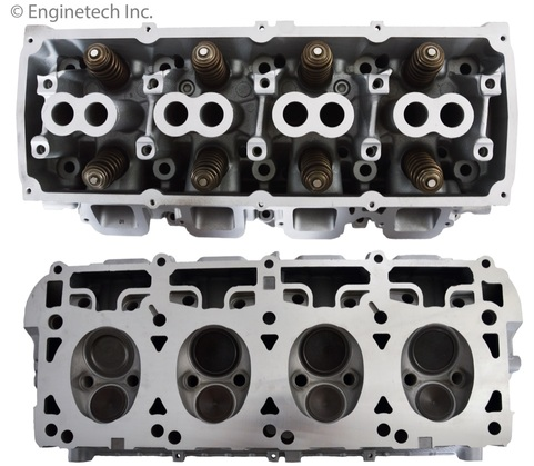 Enginetech Left Hand Cylinder Head Assembly 09-up 5.7L Hemi