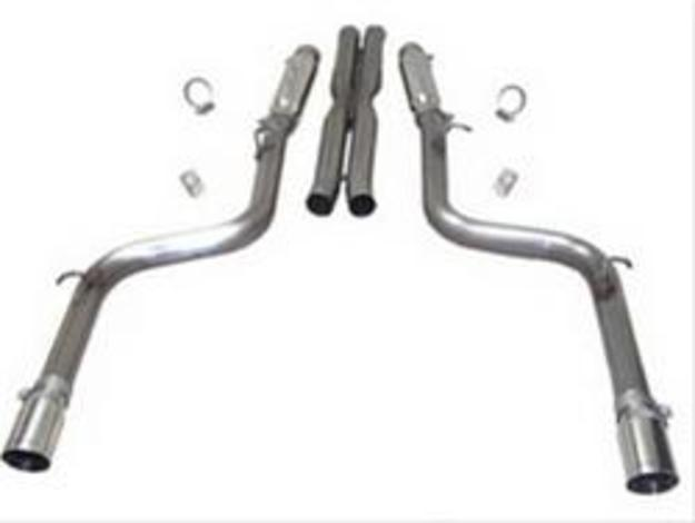 SLP Loudmouth Exhaust 05-14 Charger, Magnum, 300 SRT8