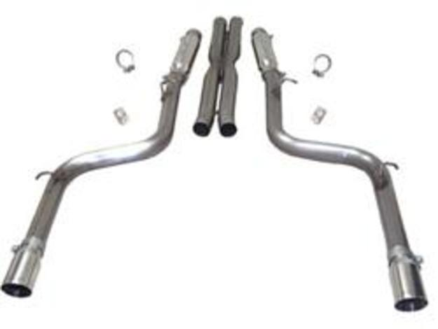 SLP Loudmouth II Exhaust 05-14 Charger, Magnum, 300 SRT8