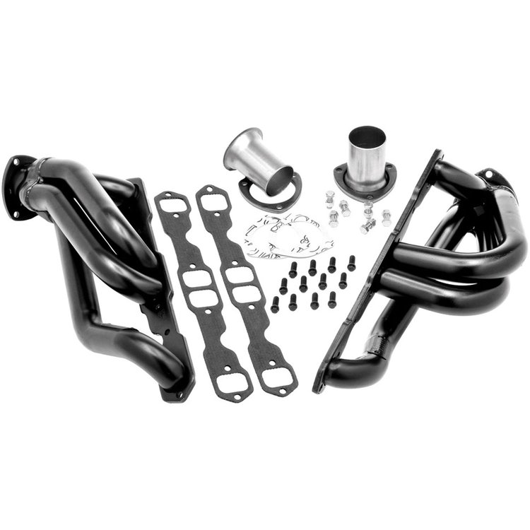Hedman Black Shorty Headers 05-08 Chrysler, Dodge LX Cars 5.7L