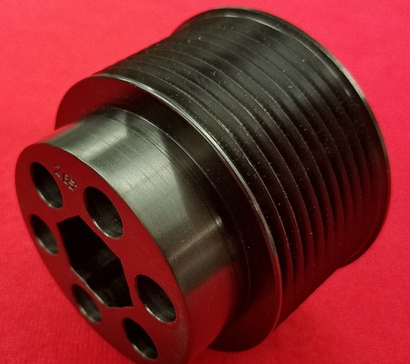Billet Grooved Supercharger Pulley Dodge-Jeep 6.2L Hemi