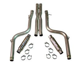"SLP Loudmouth 3"" Exhaust System 08-14 Dodge Challenger Hemi"