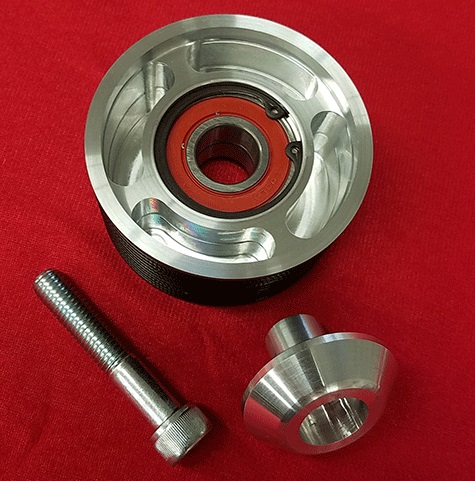 Billet Grooved Serpentine Belt Tensioner Pulley Gen 3 Hemi
