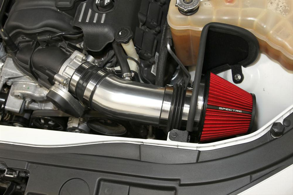 Spectre Polished Performance Air Intake 11-up LX Cars 6.4L Hemi