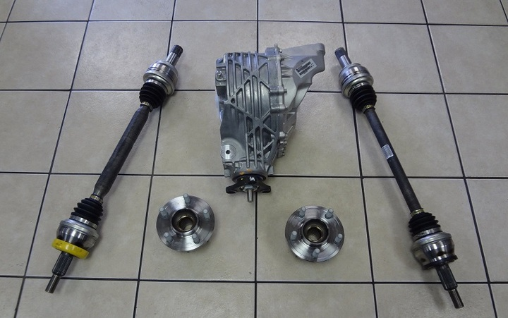 Mopar Rear Axle Differential Gertrag 3.73 Upgrade Kit LX Cars