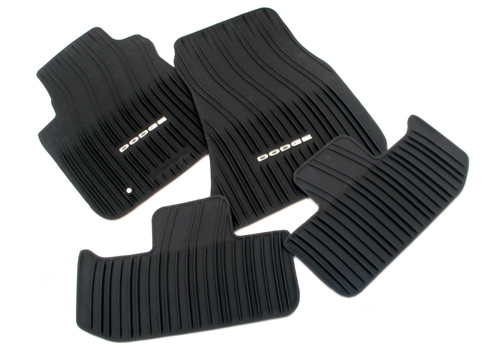 """DODGE"" Mopar OEM Slush Floor Mats 11-up Dodge Challenger"