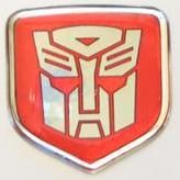 3D Red Autobot Steering Wheel Decal 05-10 Dodge Car