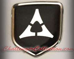 3D Black-Chrome Fratzog Steering Wheel Decal 05-10 Dodge Car
