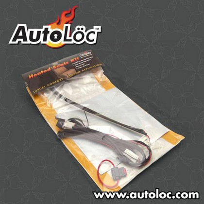 Autoloc Carbon Fiber Heated Seat Kit Individual