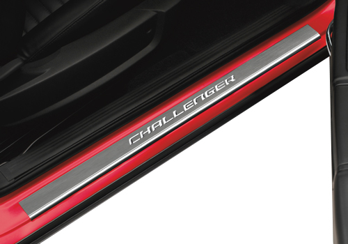 "Mopar ""Challenger"" Door Sill Covers 08-14 Dodge Challenger"