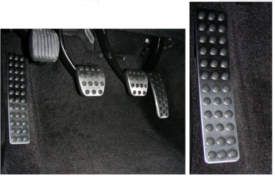 Mr. Norms Dead Pedal Cover 08-up Dodge Challenger