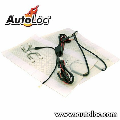Autoloc Heated Seat System for 1 seat w/o Harness or switch