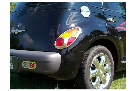 Chrysler PT Cruiser Chrome Tail Light Trim Overlays