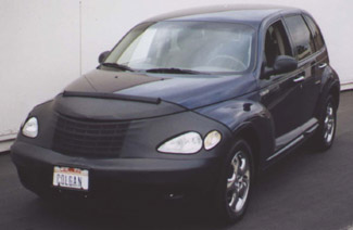 Colgan Black Full Front Nose Bra Chrysler PT Cruiser No License