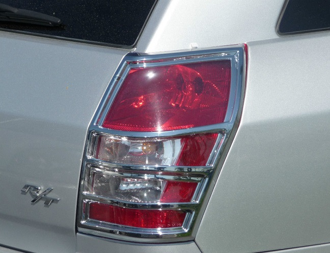Chrome Tail Light Trim Covers 05-08 Dodge Magnum