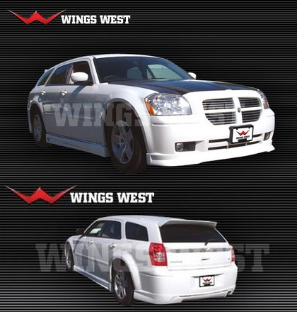 Wings West VIP Style Body Kit 05-08 Dodge Magnum V8