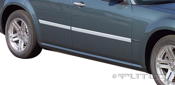 Putco Chrome ABS Body Side Molding 05-08 Dodge Magnum
