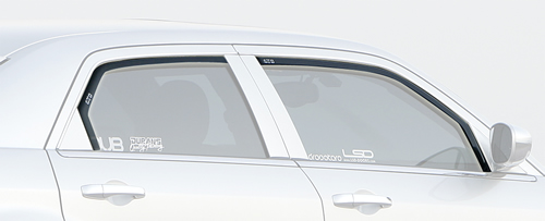 GTS Slim Line Ventgard Smoke Vent Visors 11-up Dodge Charger