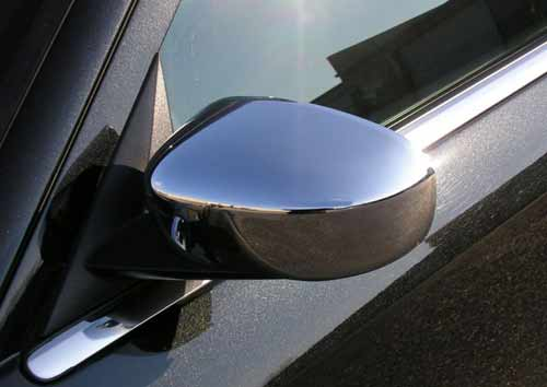 ACI Chrome Mirror Covers 05-10 Charger, Magnum, Chrysler 300