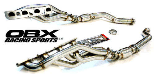 OBX Racing 1 1/2 In Long Headers Cats 12-up GC-TrailHawk SRT8