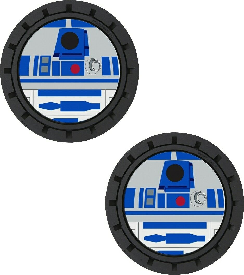 Plasticolor Star Wars R2D2 Cup Holder Coaster Inserts
