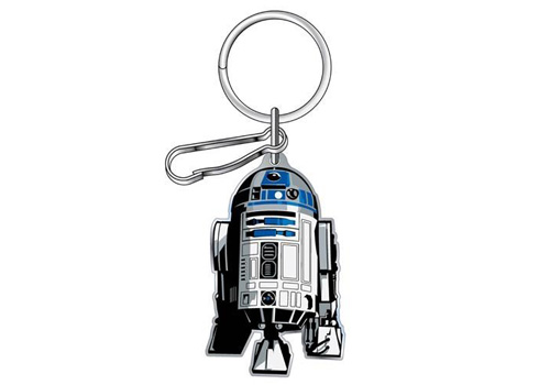 Plasticolor Star Wars R2D2 Logo Enamel Key Chain