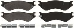 Bendix Semi-metallic Rear Brake Pads 04-06 Dodge Ram SRT-10