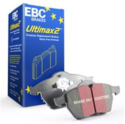 EBC Ultimax 2 Rear Brake Pads 02-18 Dodge Ram V6, V8