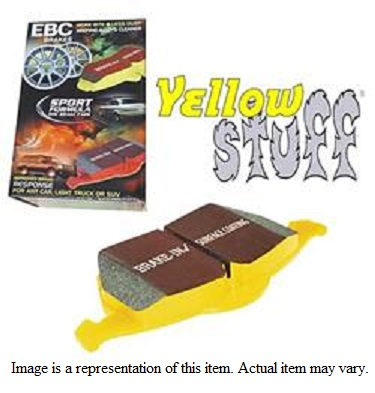 EBC Yellowstuff 4000 Rear Brake Pads 02-18 Dodge Ram V6, V8