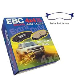 EBC Greenstuff 7000 Front Brake Pads 03-08 Dodge Ram HD, MC