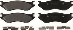 Bendix CT3 Ceramic Front Brake Pads 02-04 Dodge Ram V6, V8