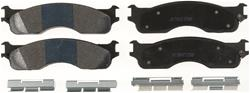 Centric Semi-metallic Front Brake Pads 03-08 Dodge Ram HD, MC