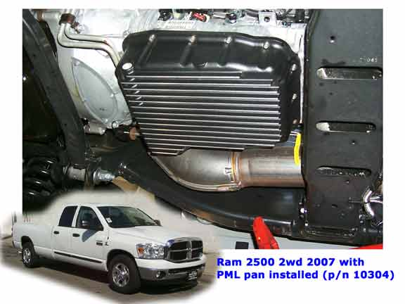 pml deep transmission pan dodge 68rfe,65rfe,66rfe,545rfe,45rfe