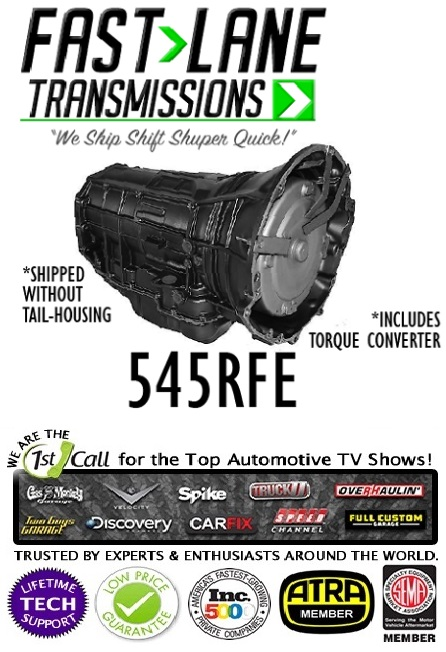 FastLane Performance 545RFE Transmission 99-11 Dodge-Chrysler