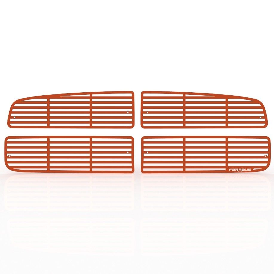 Custom Horizontal Bar Grille Insert 02-05 Ram 1500,03-05 Ram HD