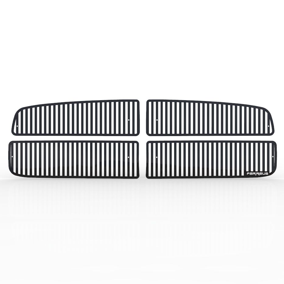 Custom Vertical Bar Grille Insert 02-05 Ram 1500, 03-05 Ram HD