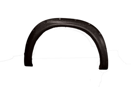 Textured Bolt Style Fender Flare Kit 09-18 Dodge Ram Pickup