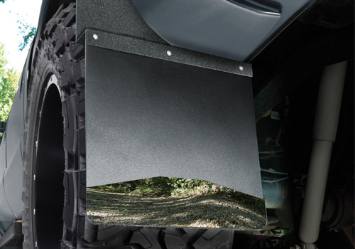 Husky Liners Universal Black Top Stainless Weight Mud Flaps